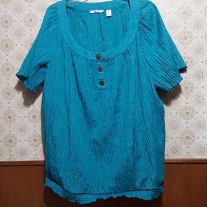 Fred David womans blouse 3X